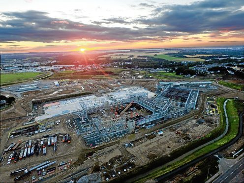 The new AECC under construction