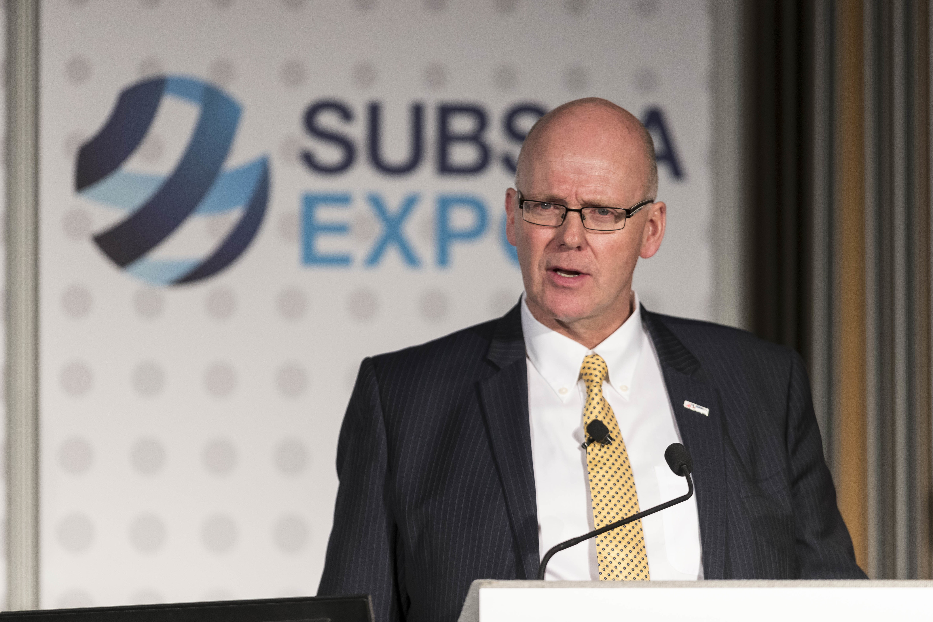 Subsea UK chief executive Neil Gordon