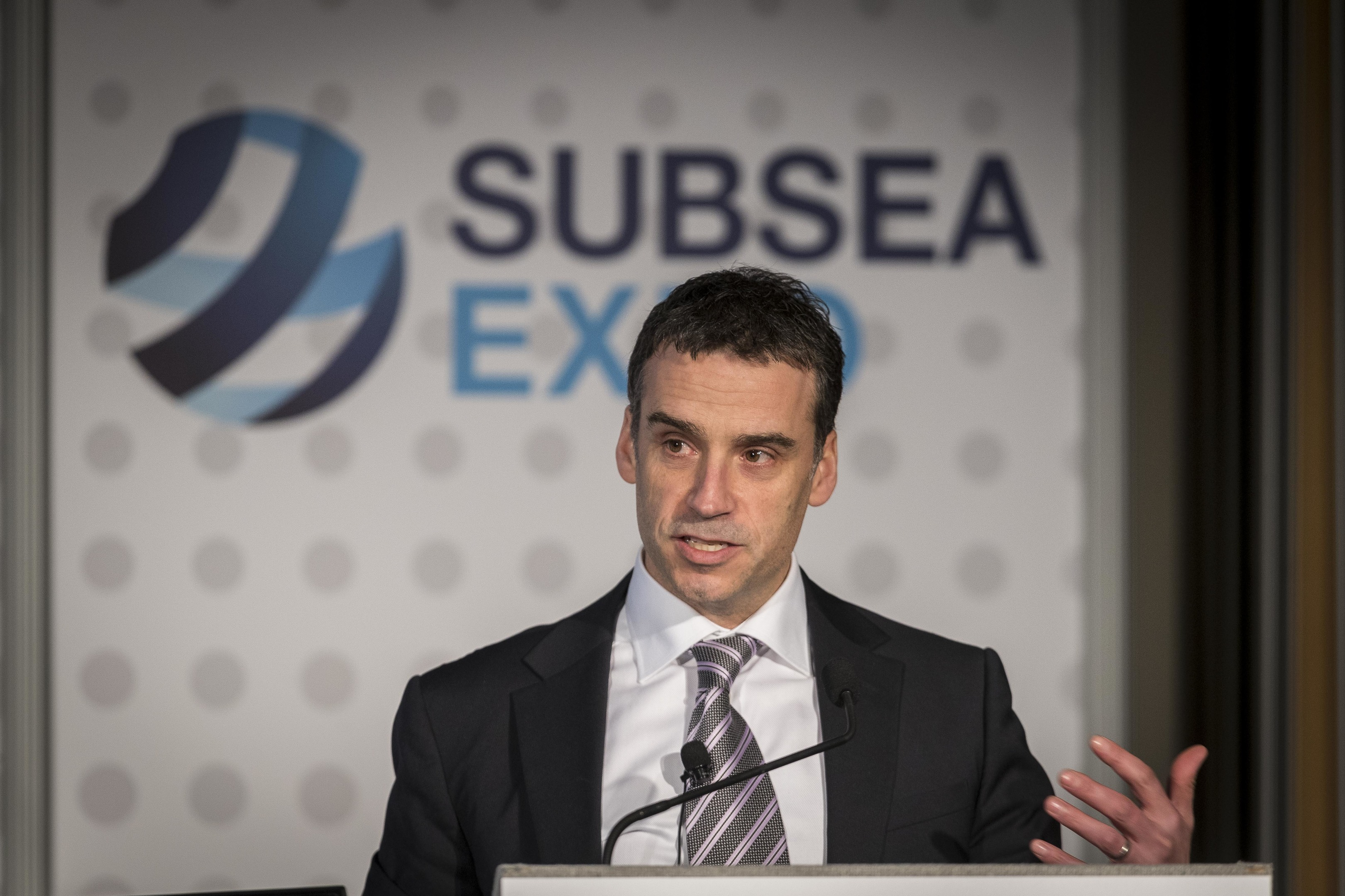 Mike Backus − vice president of operations at Nexen Petroleum UK,