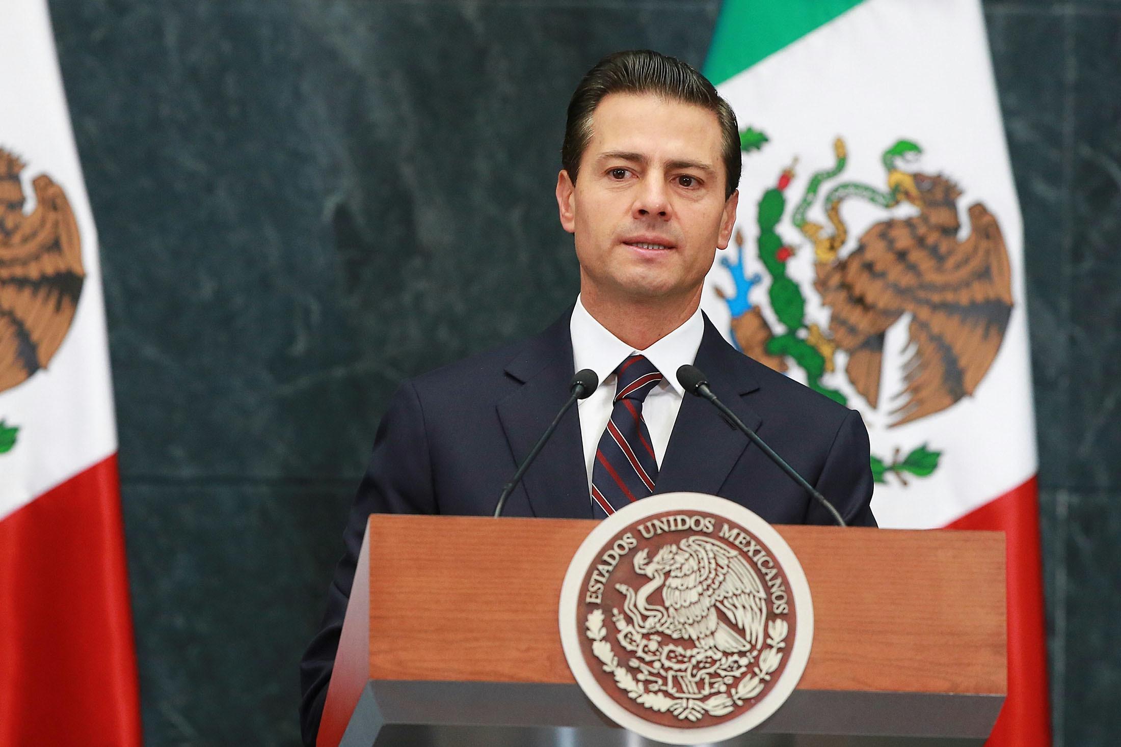 Enrique Pena Nieto Photographer: Susana Gonzalez/Bloomberg