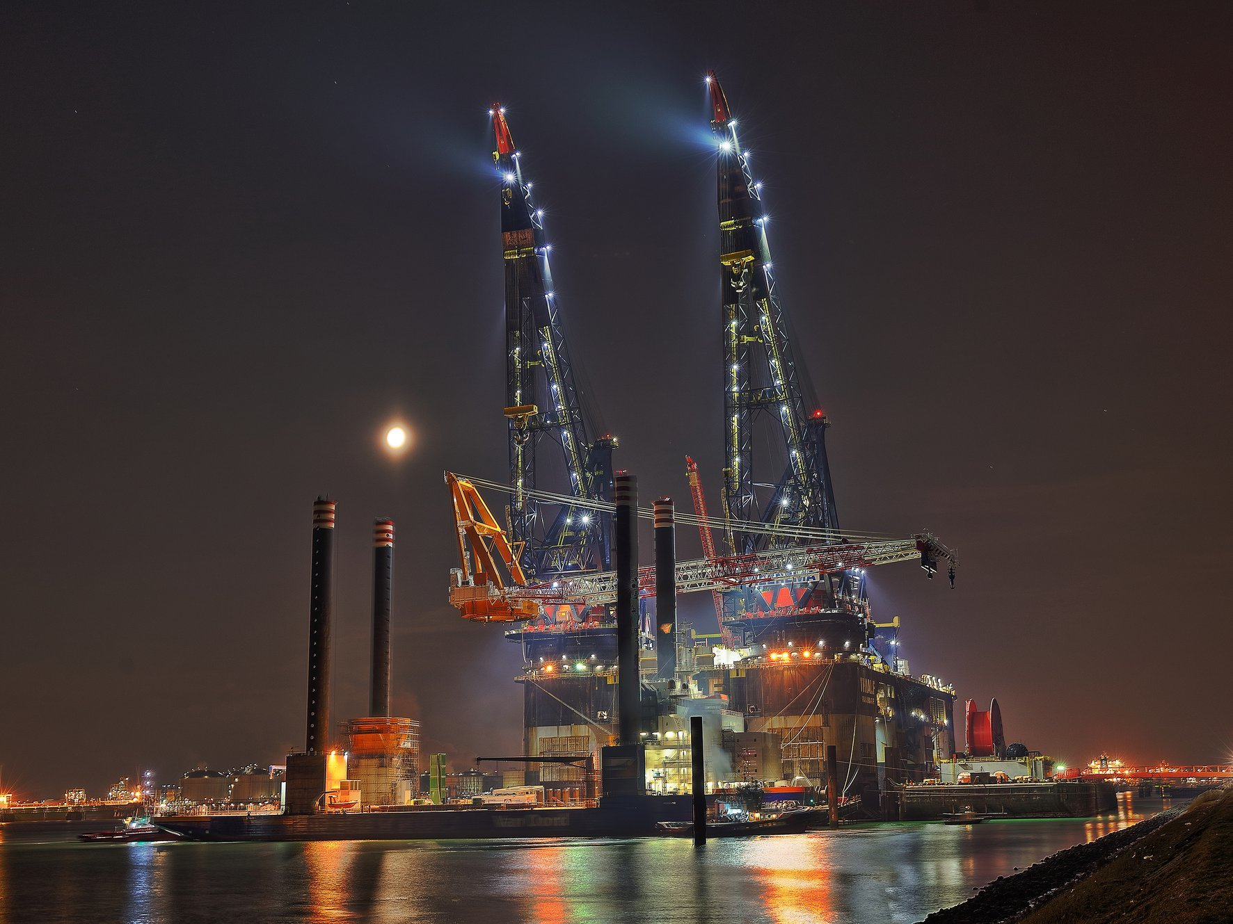 Huisman says its LEC for the Aeolus is the largest ever built