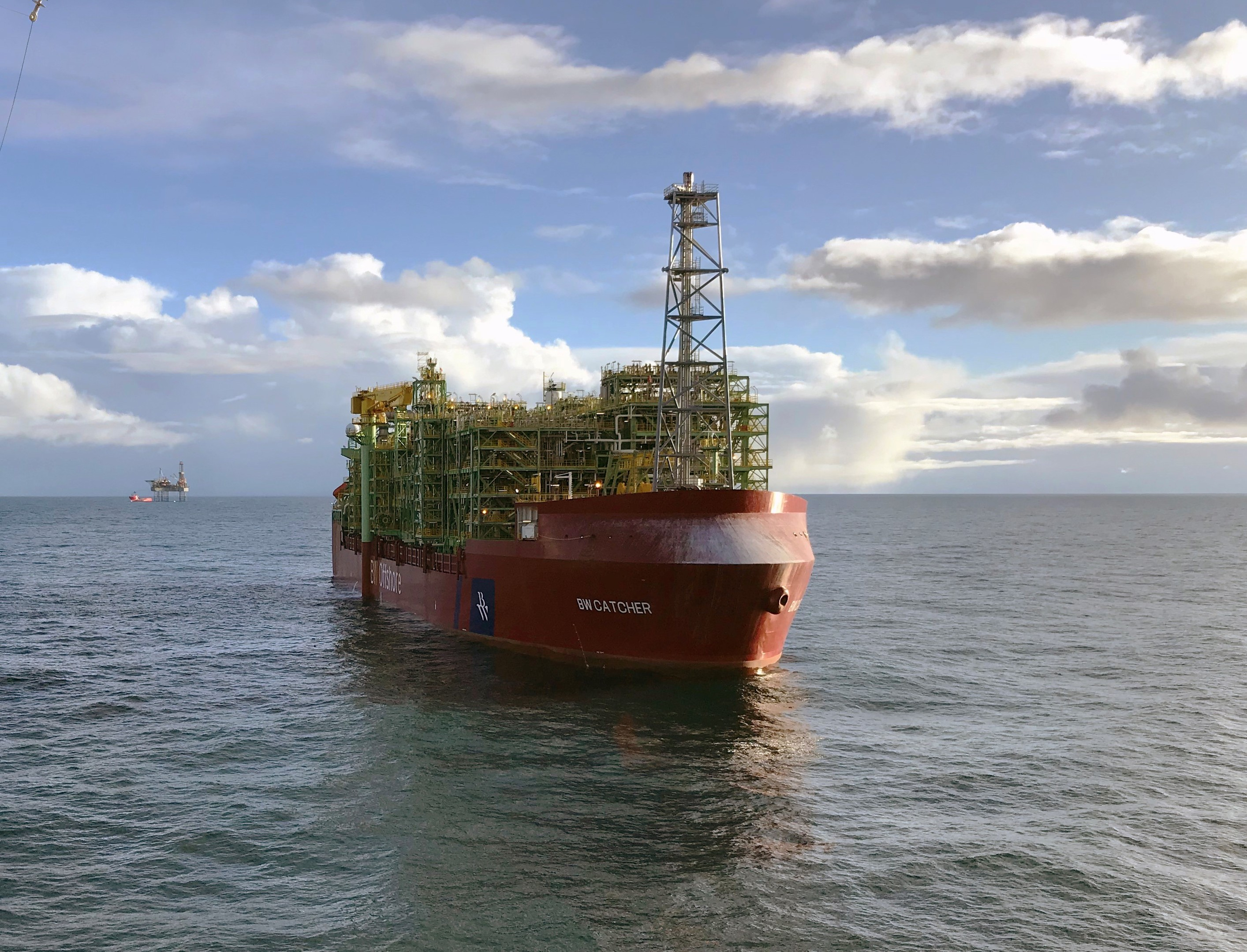 The FPSO for Premier Oil's Catcher field.