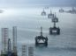 Cromarty Firth oil rigs. Energy Institute said the UK is 'way off' its 2050 climate goals.