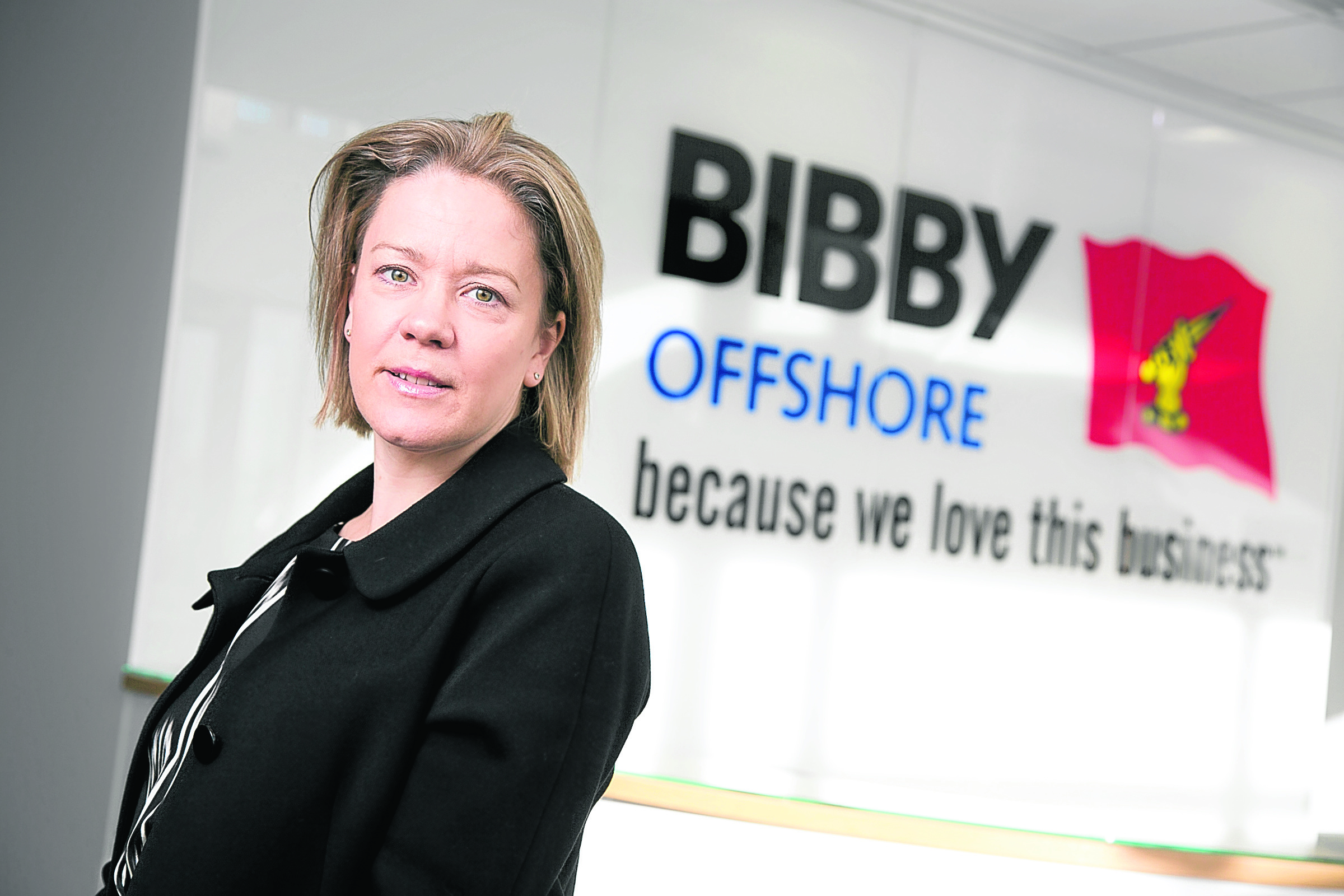 Nicky Etherson, commercial director of Bibby Offshore,