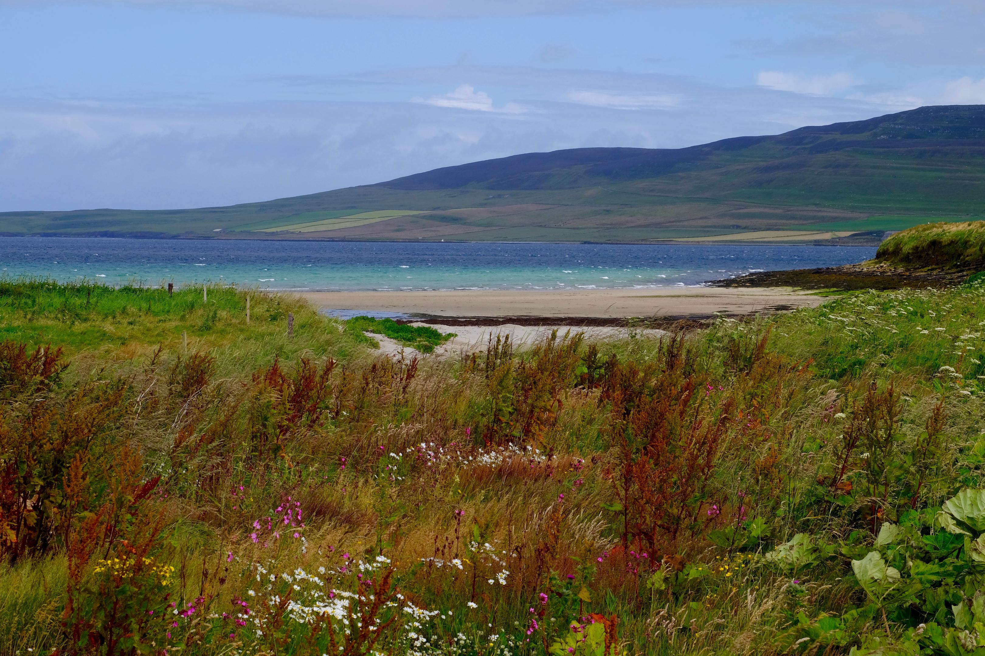 Evie Beach, Orkney.