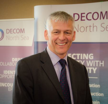 Tom Leeson, interim chief executive of Decom North Sea