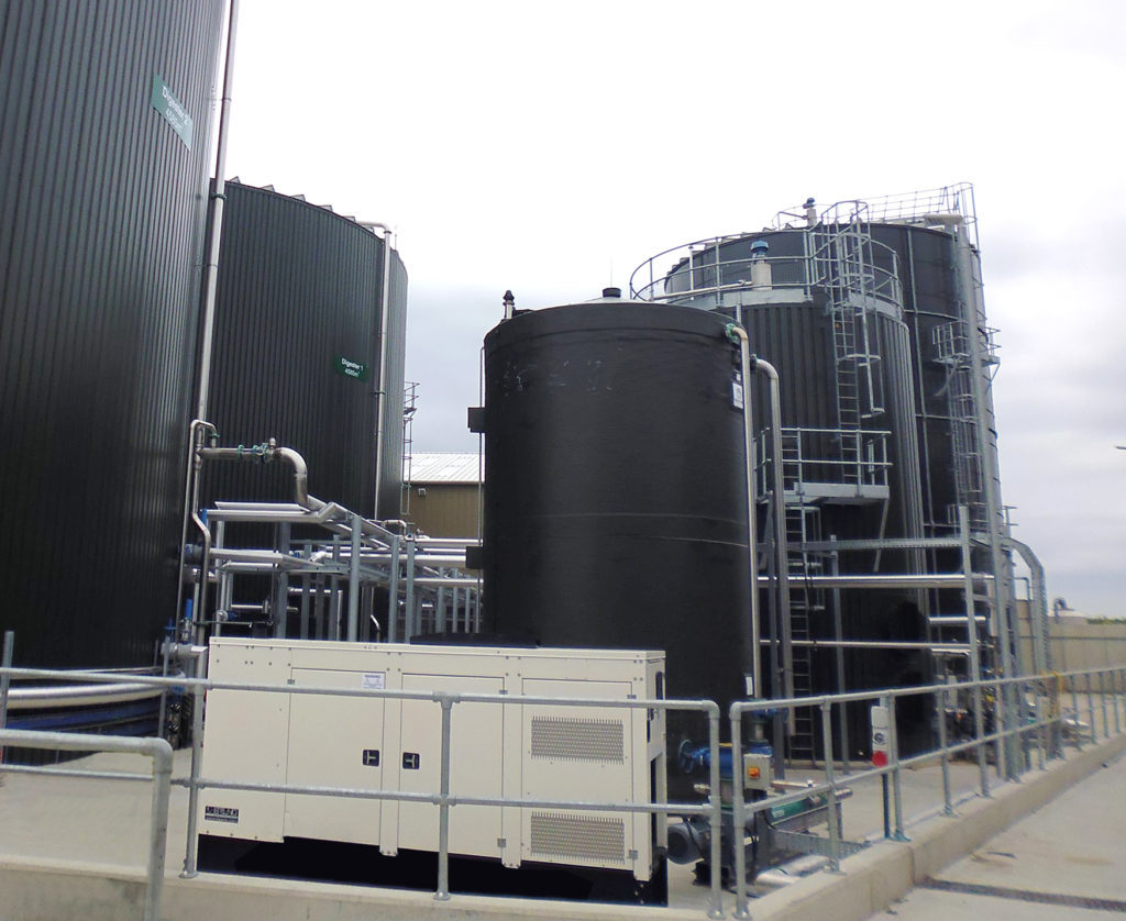 Pic: Balmoral Tanks' takeover of Servomac has extended the company's capabilities to include pipework supply and installation.