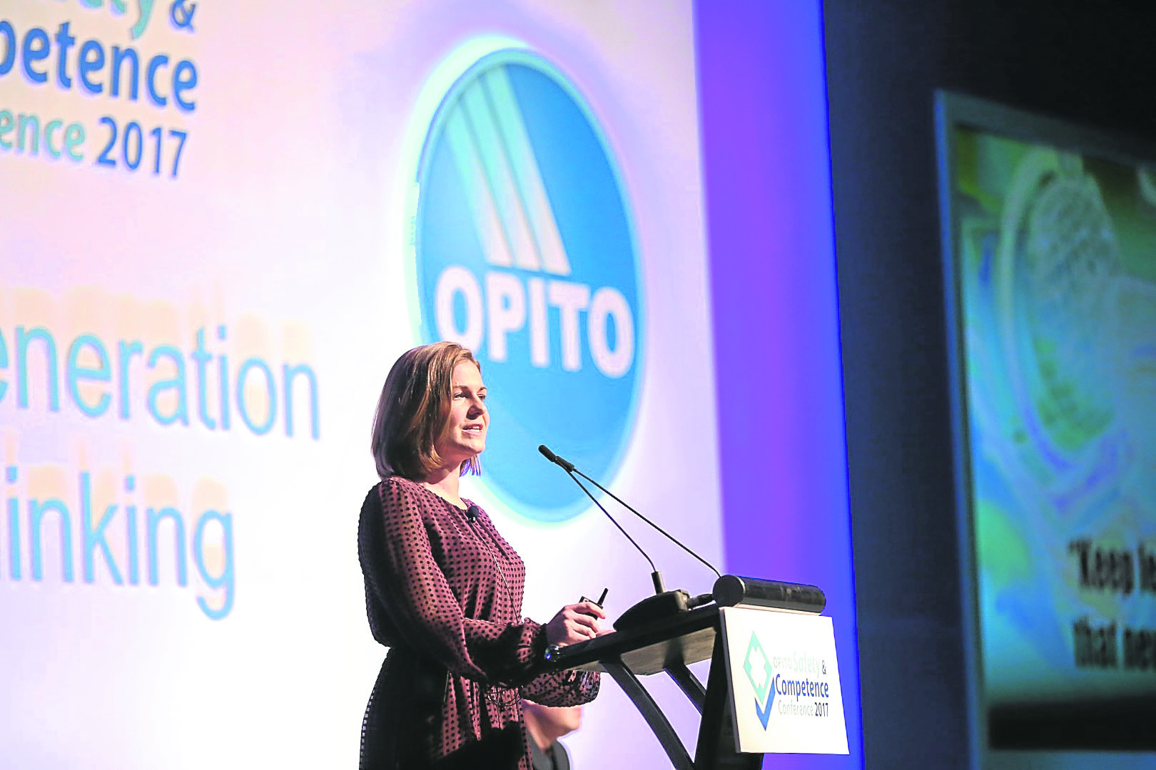 Christine Currie is director of OPITO