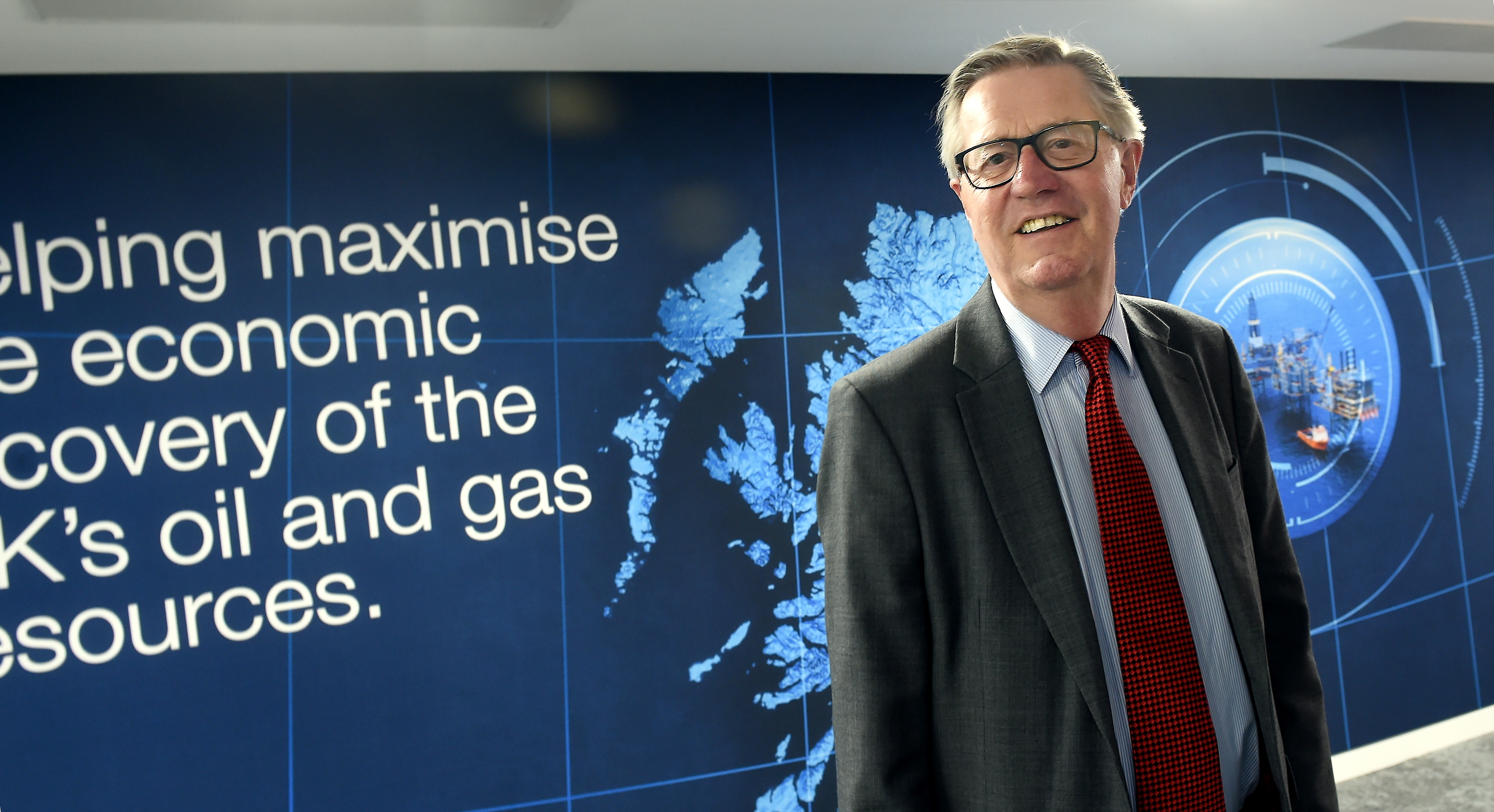 Energy Voice: Sir Patrick Brown, retiring from the board of OGA , pictured at Oil and Gas Authority, Huntly Street, Aberdeen.  Picture by Jim Irvine  13-3-18