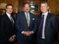 The Aberdeen-Houston gateway, 2018 annual knowledge sharing and networking lunch at Norwood Hotel, Aberdeen. In the picture are from left: Frank Landreneau, chief financial officer, PKF Texas: Jeffrey H D Blair, director Europe, Middle East and Africa, greater Houston Partnership and Ewan Cameron, SDI.