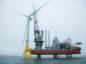 Aberdeen Offshore Wind Farm first turbine installation