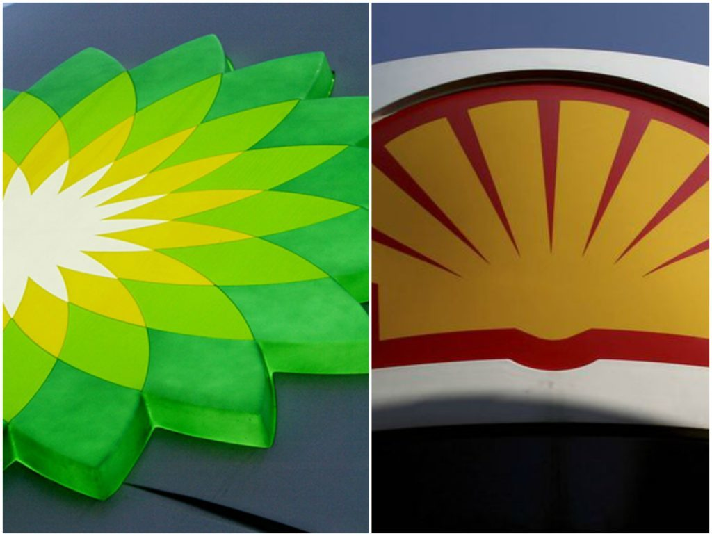 BP and Shell will post their full year results this week.