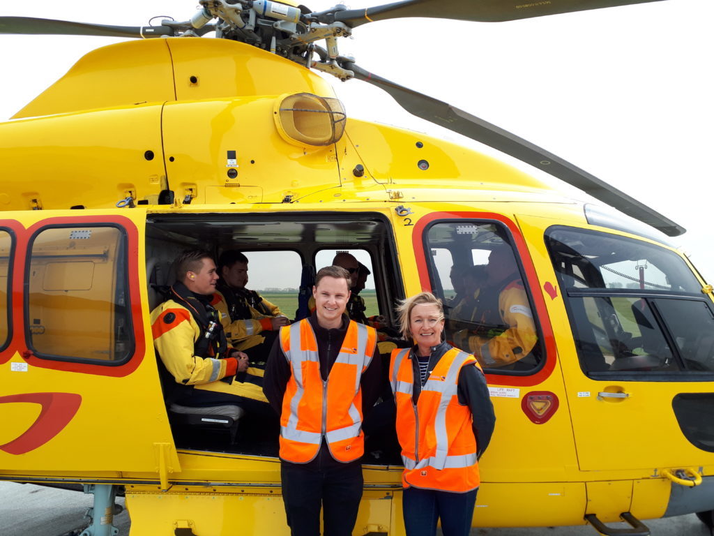Helicopter flights take off from new Zeeland Airport terminal