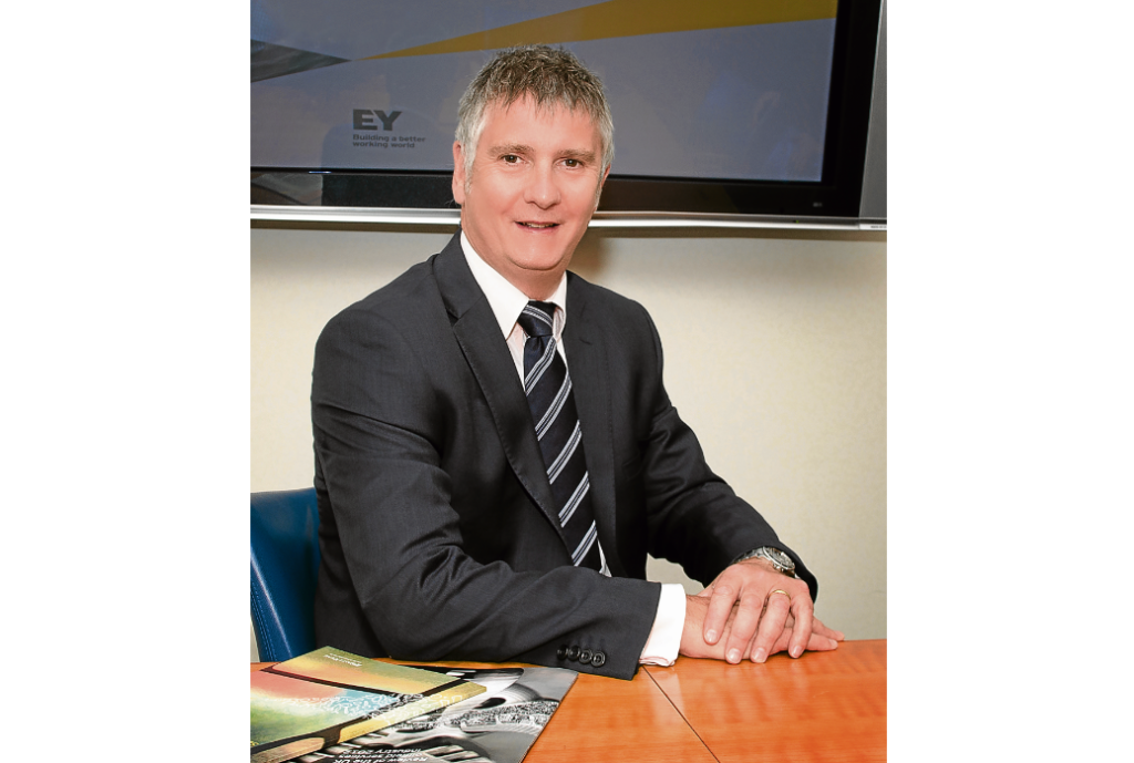 Niall Blacklaw is head of energy indirect tax for EY