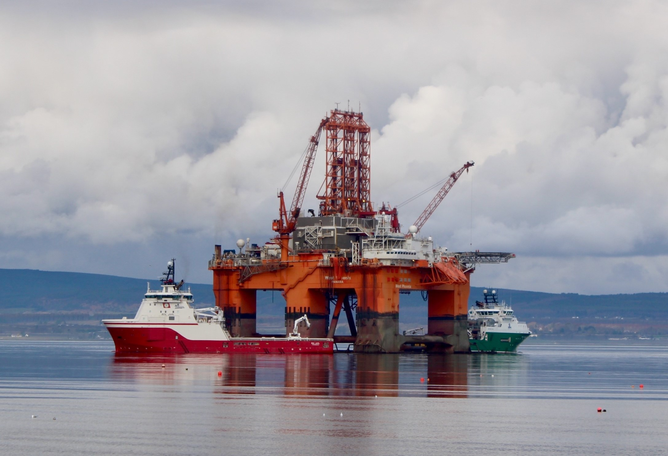 Lifjellet will be drilled by the West Phoenix rig