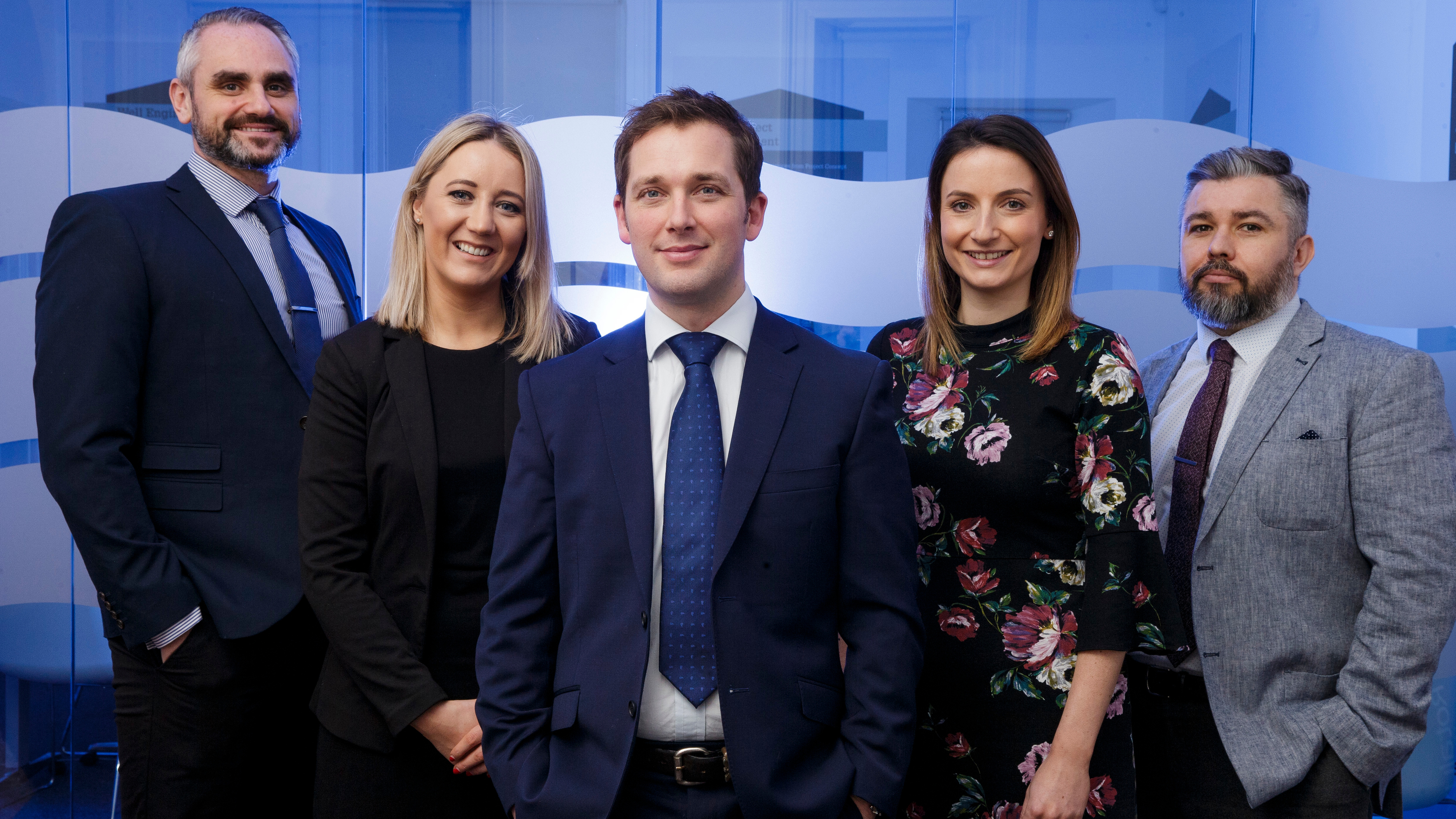 Triton Energy Solutions: John Dickson, Adele Wilson, Scott Shand, Charlotte Thomson and Jamie Leese. (Photo: Newsline Media)