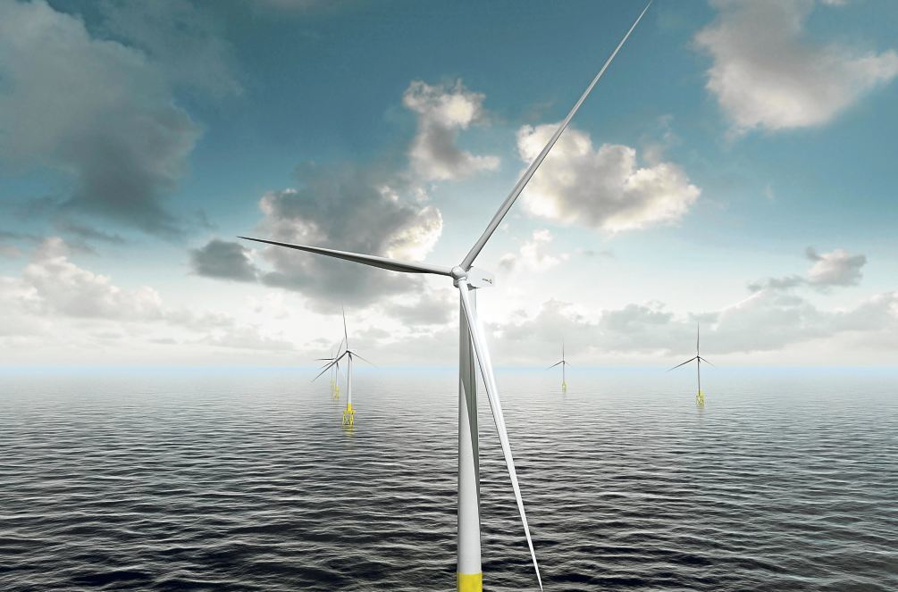 The offshore wind industry is held up as an example for the oil and gas industries to follow.