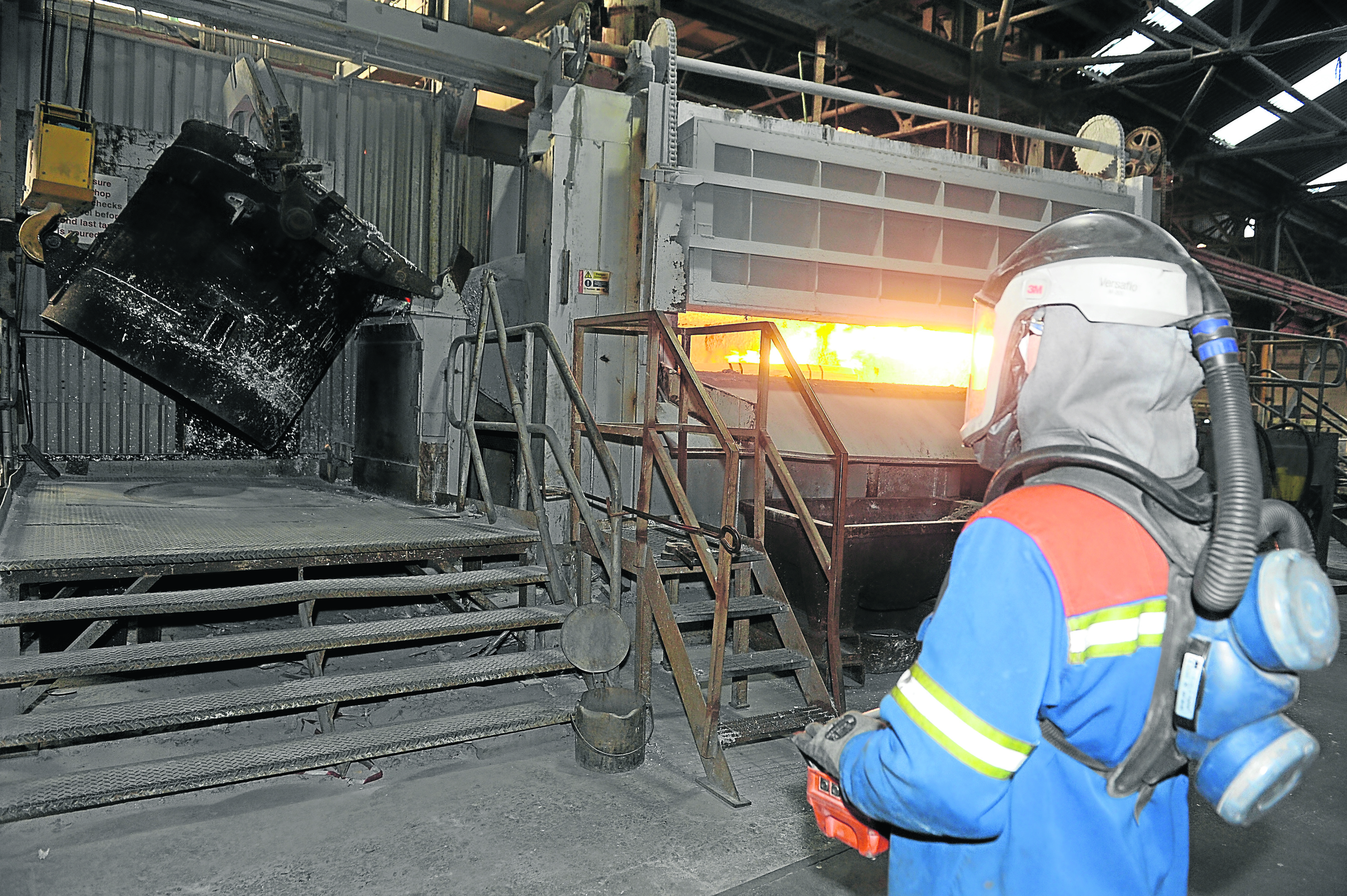The aluminium smelter at Fort William which has been bought by SIMEC which plans to make aluminium car wheels