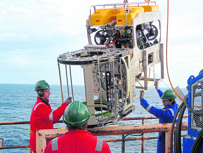 Flexlife conducting ROV-deployed ultrasonic scanning in the North Sea