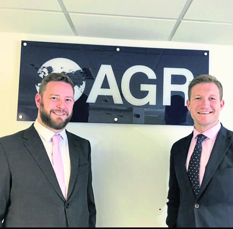 Left – Barry O'Sullivan – Regional Manager, AGR  Right – Stuart Hunter – Chief Executive Officer, AGR