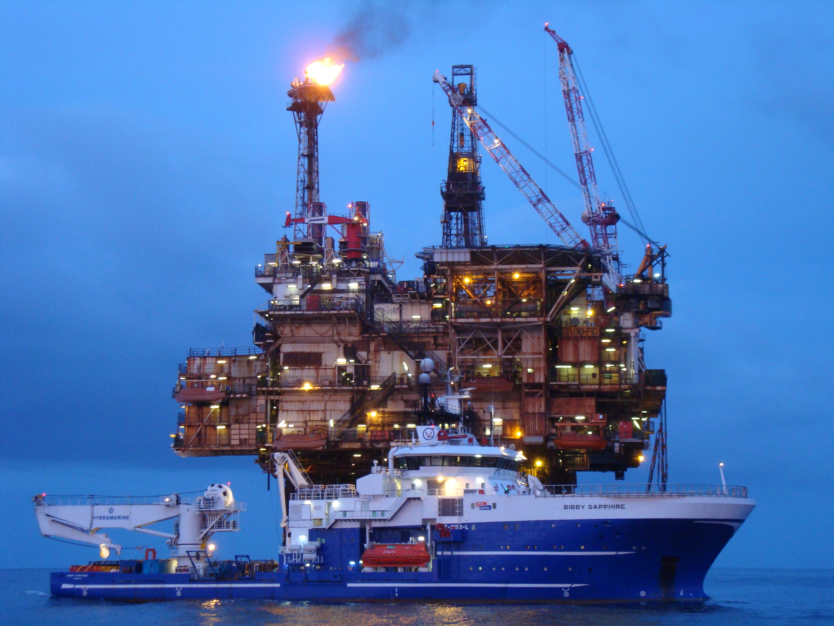 Bibby Sapphire, owned by Bibby Offshore