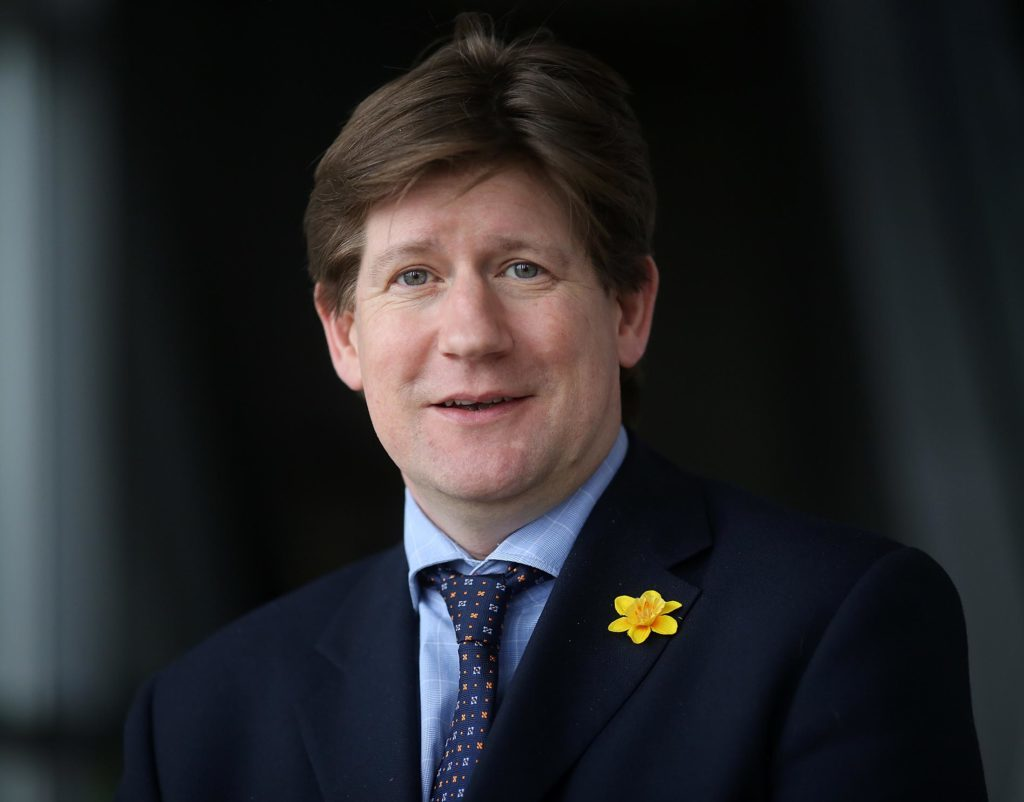 amphoto - Alexander Burnett MSP ,  Scottish Conservative Party member for Aberdeenshire West in the Scottish Parliament at Holyrood. (ARCHIVE if you wish)    No Syndication No Sales Picture © ALLAN MILLIGAN Saturday 4th March 2017 mobile  07884 26 78 79 e-mail -  a 3 f i v e m ( a t) g m a i l  (d o t ) c o m  ...covering Politics in Scotland....