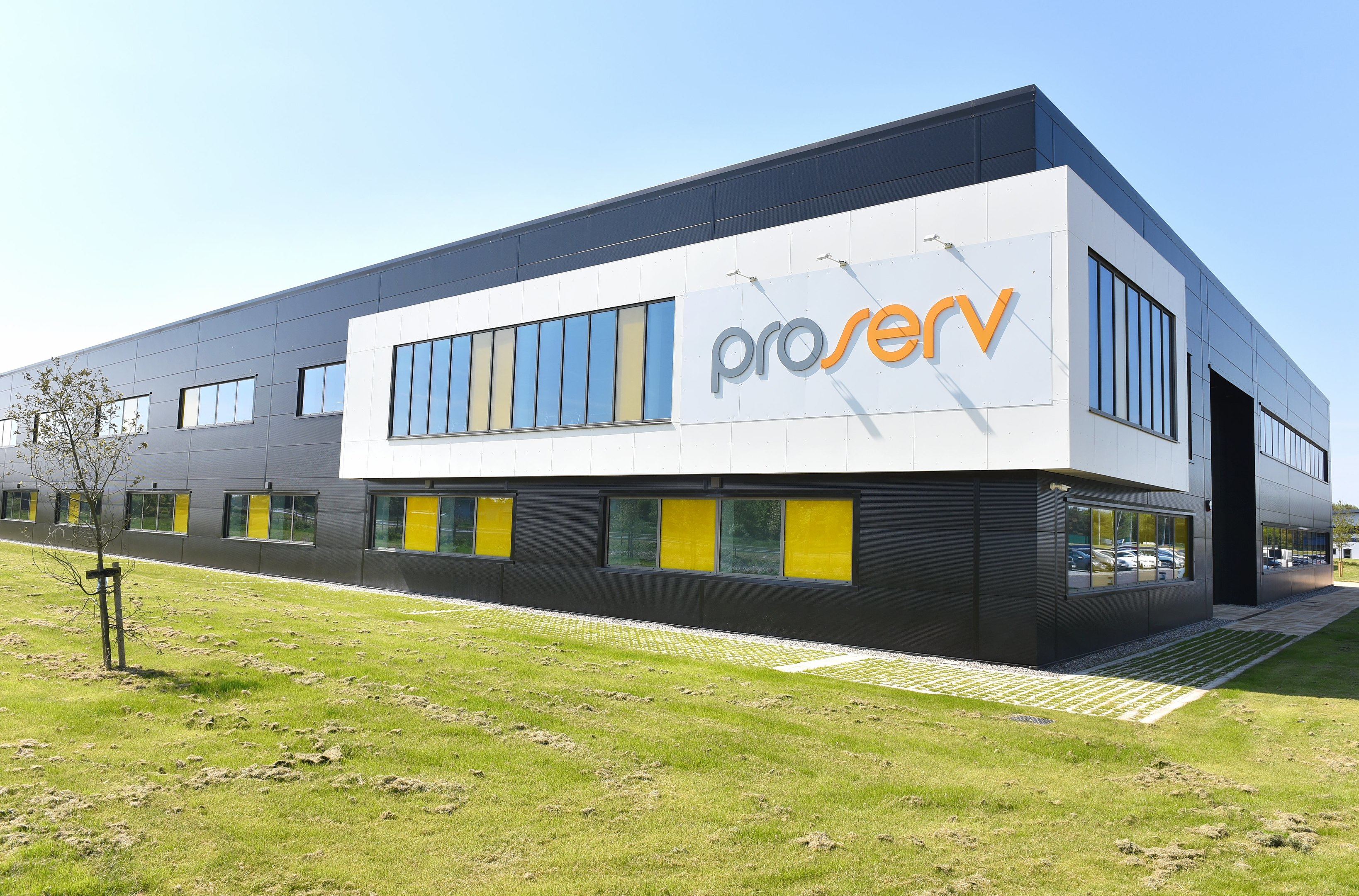 Official opening of the new Proserv Centre of Excellence called Artemis House on Beacon Park, Gorleston.