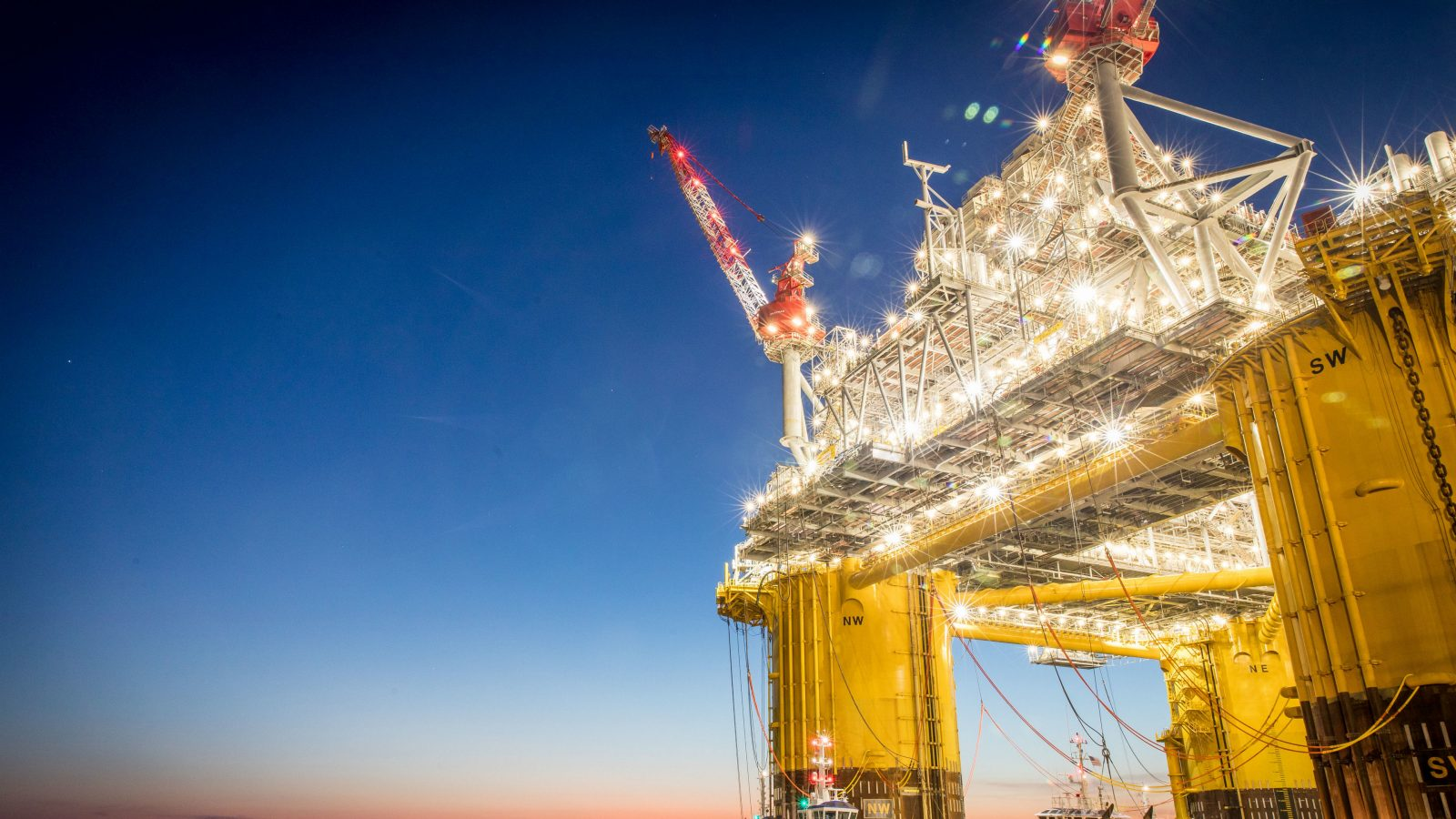 'Smoother sailing' for oil and gas supply chain.