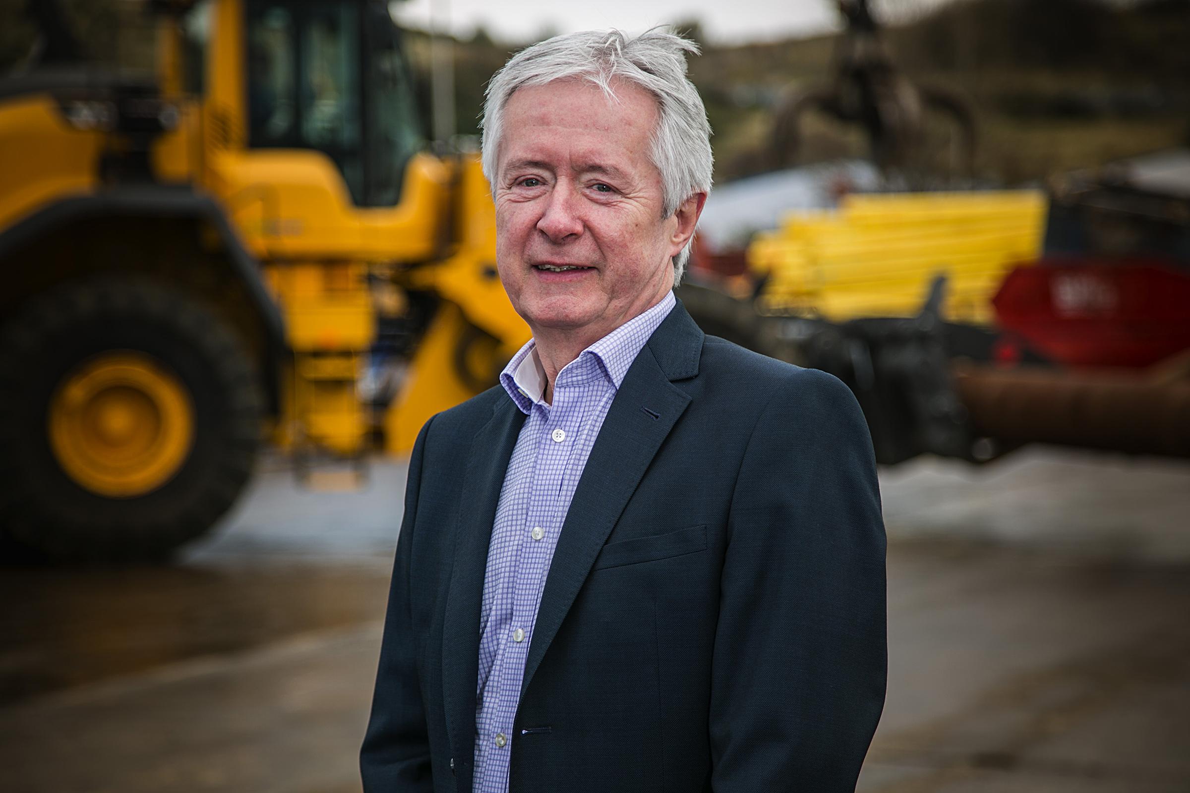 Ray Grant, environmental director at John Lawrie Group