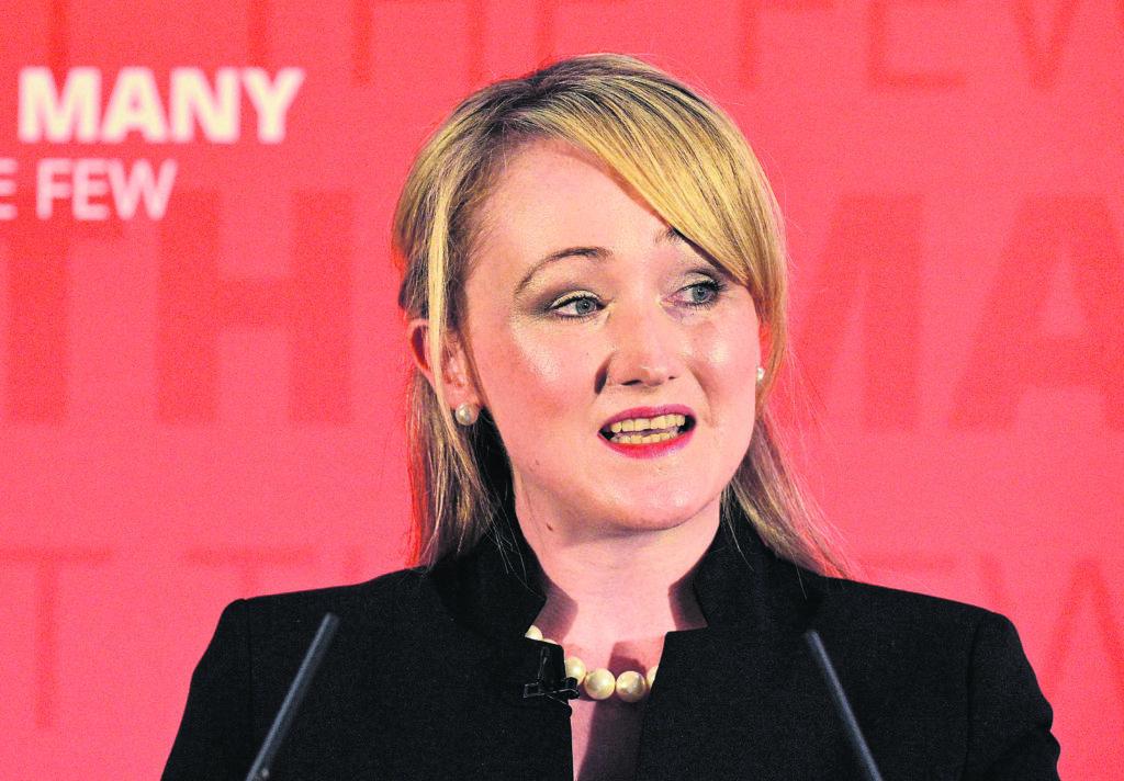 Shadow Business Secretary Rebecca Long-Bailey