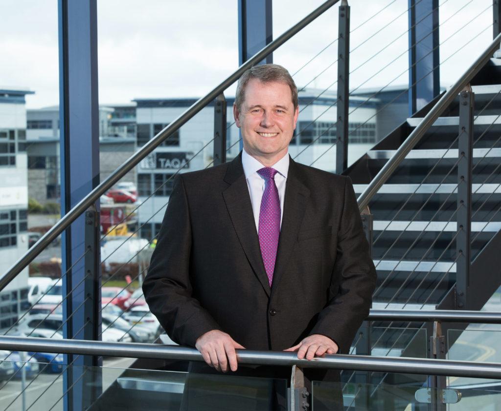 Donald Taylor, TAQA Europe's managing director.