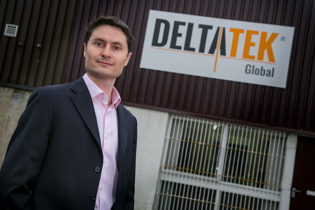 Tristam Horn, founder and chief executive of DeltaTek.