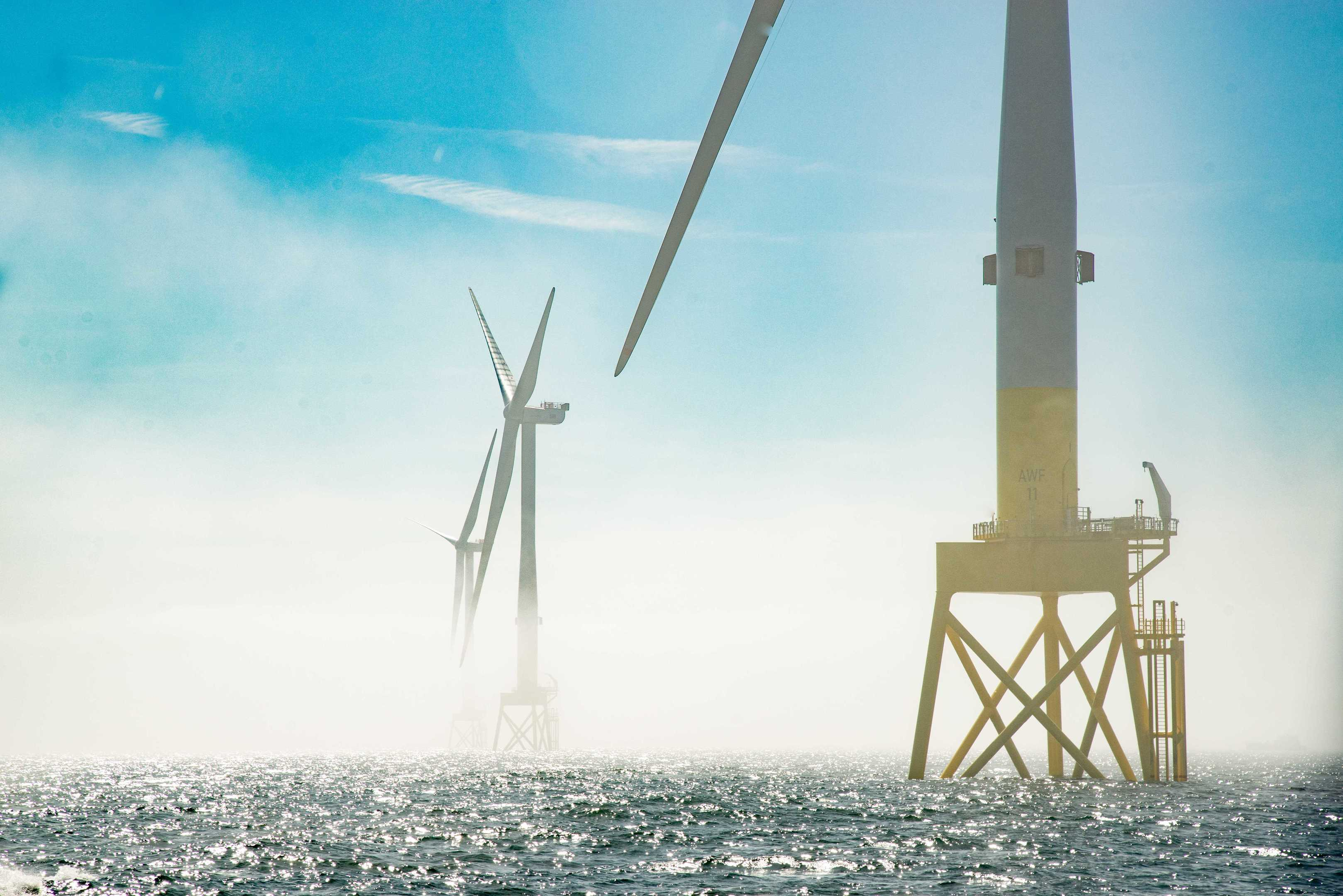 A picture of the Aberdeen Offshore Wind Farm