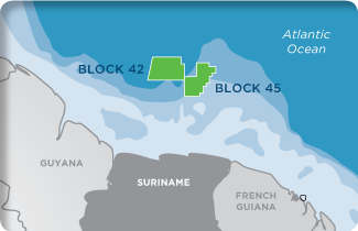 Kosmos Energy's assets in Suriname