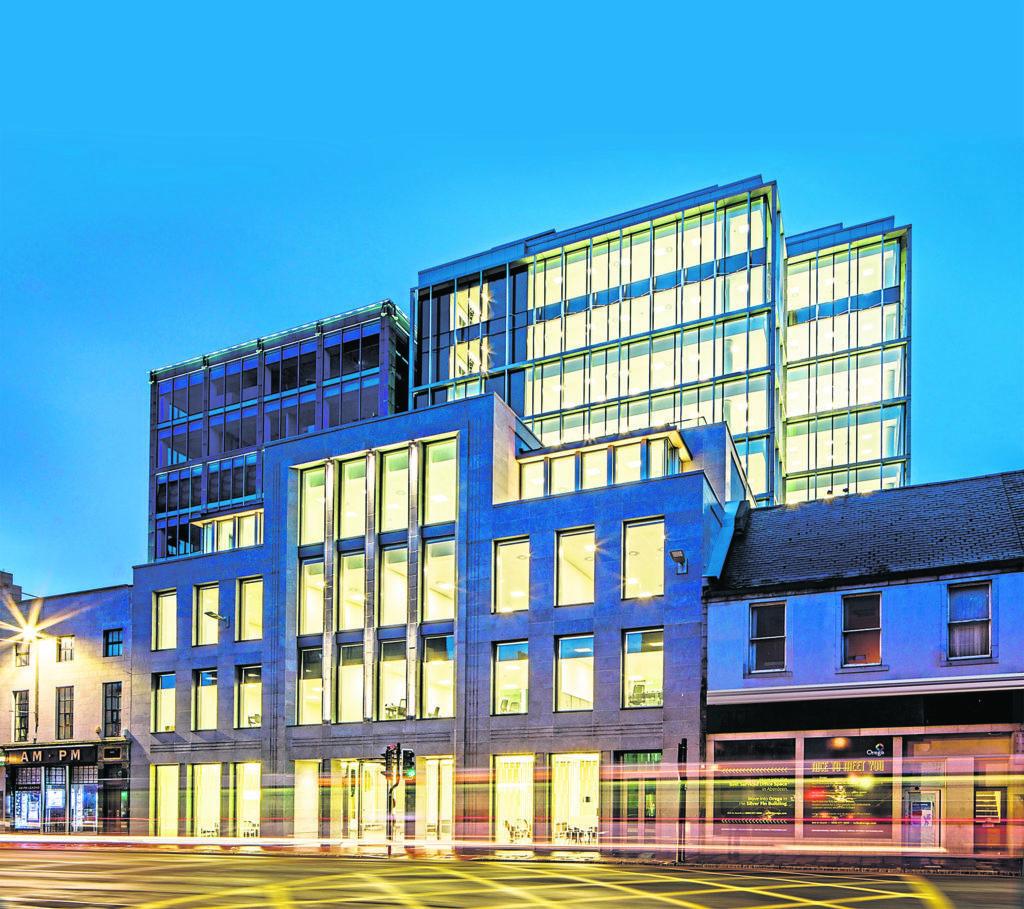Shell Aberdeen city centre