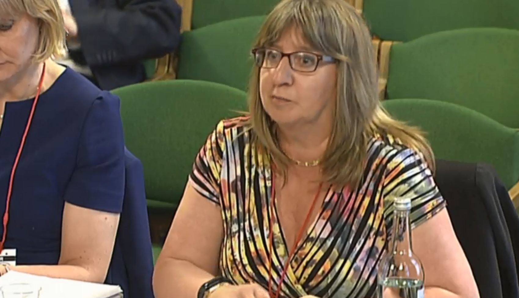 Alix Thom, from Oil and Gas UK, giving evidence to the Scottish Affairs Committee
