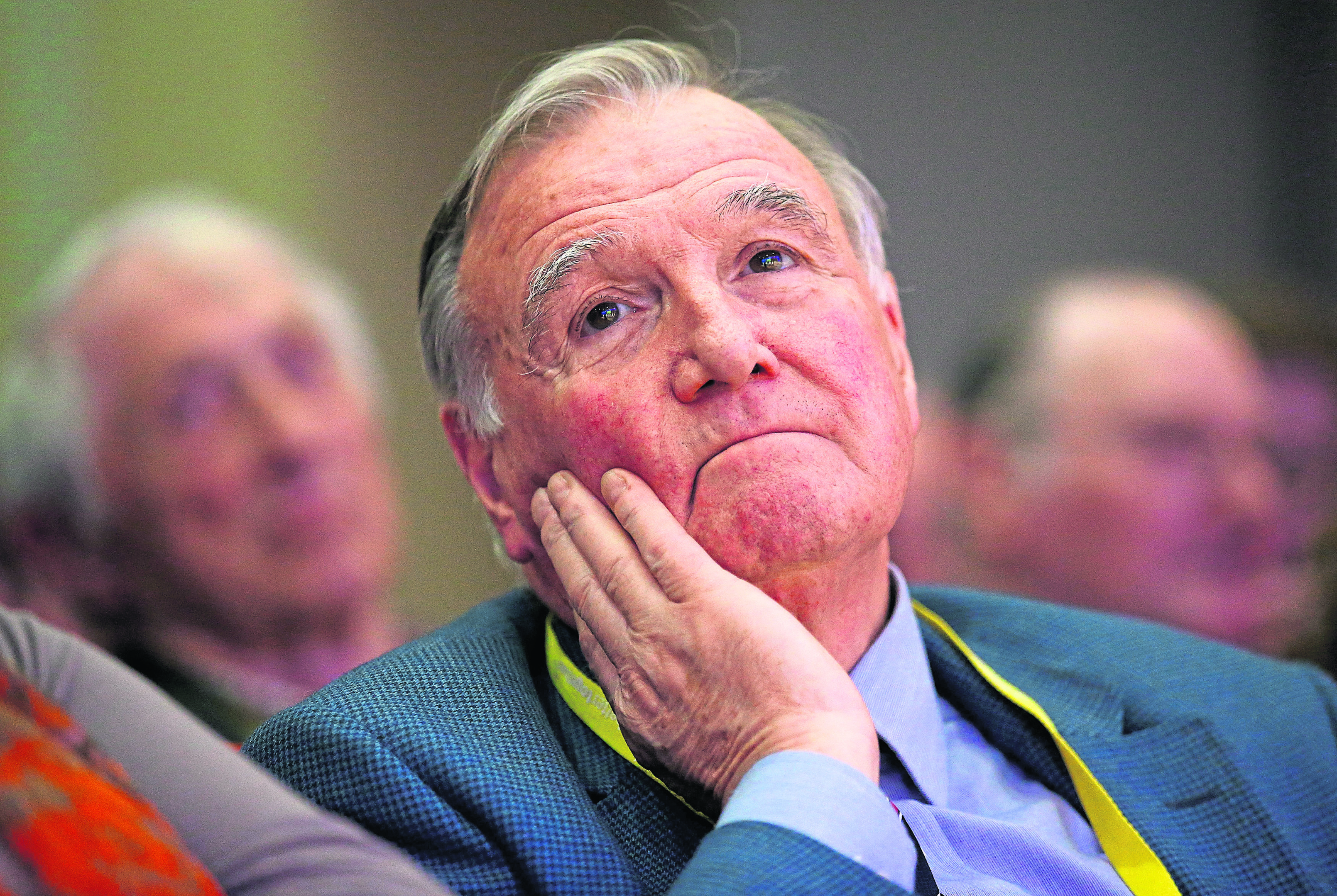 File photo dated 21/03/15 of Sir Malcolm Bruce, who has said that the House of Commons would be cleared out very fast if every MP, Cabinet minister and Prime Minister who told a brazen lie had to quit. PRESS ASSOCIATION Photo. Issue date: Tuesday May 26, 2015. Sir Malcolm Bruce made the claim as he defended former Scottish secretary Alistair Carmichael's conduct in relation to a leaked memo. See PA story POLITICS Memo. Photo credit should read: Andrew Milligan/PA Wire