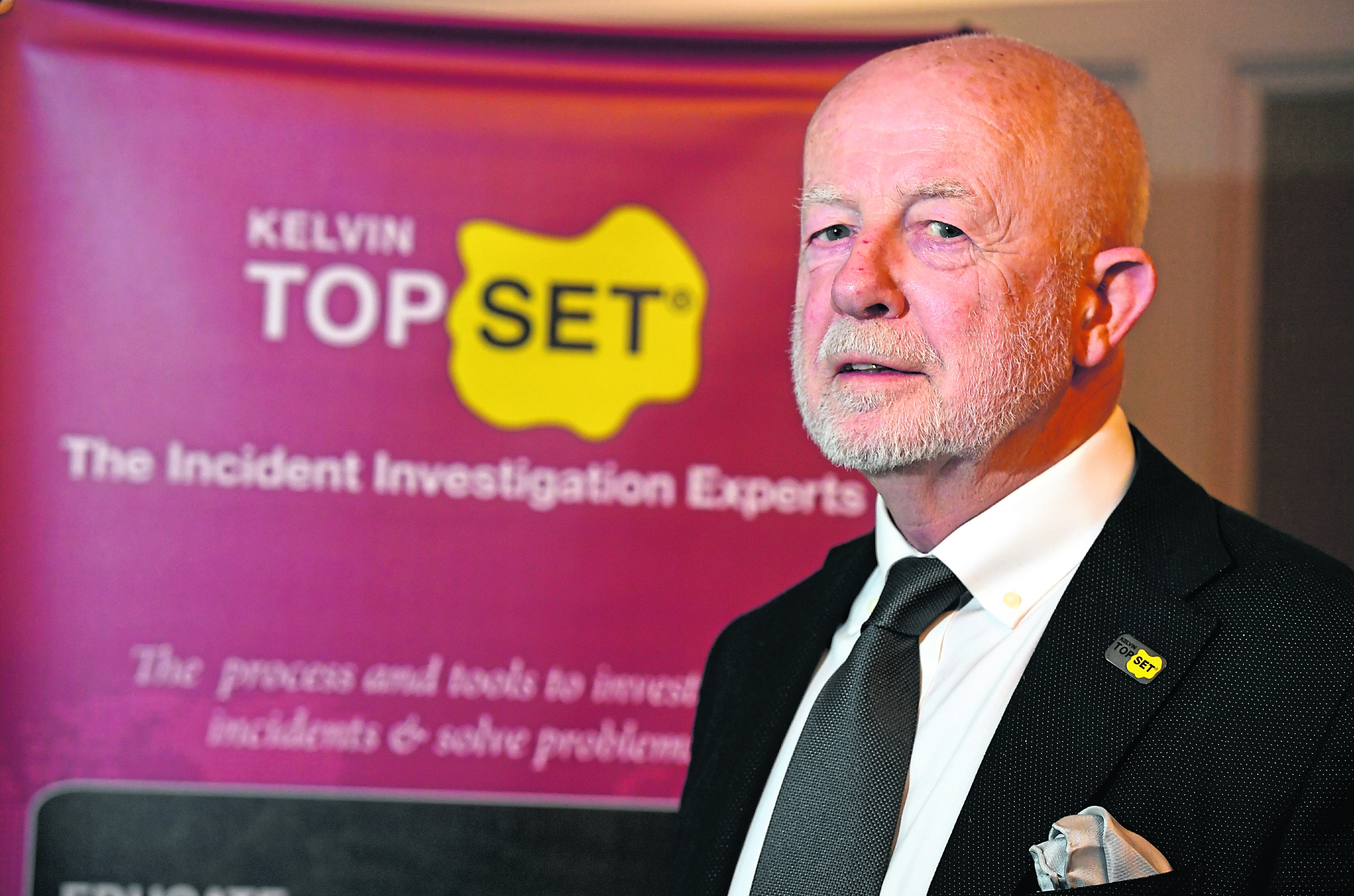 David Ramsay, Group Managing Director, Kelvin TOP-SET.