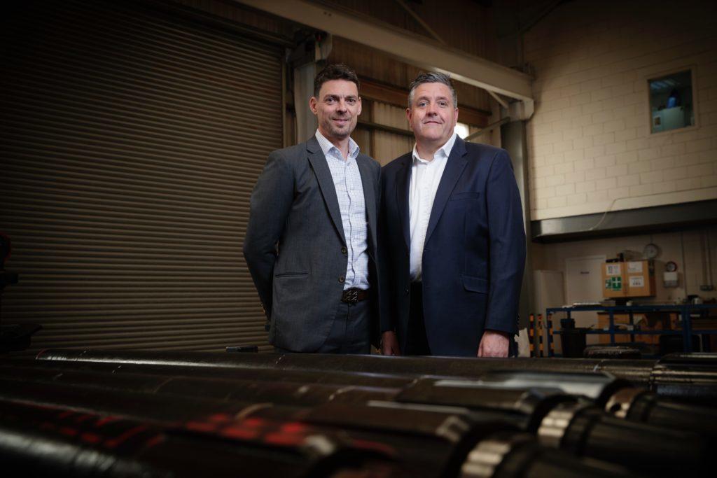 L: David Stephenson, CEO / R: Steve Kent, Chairman