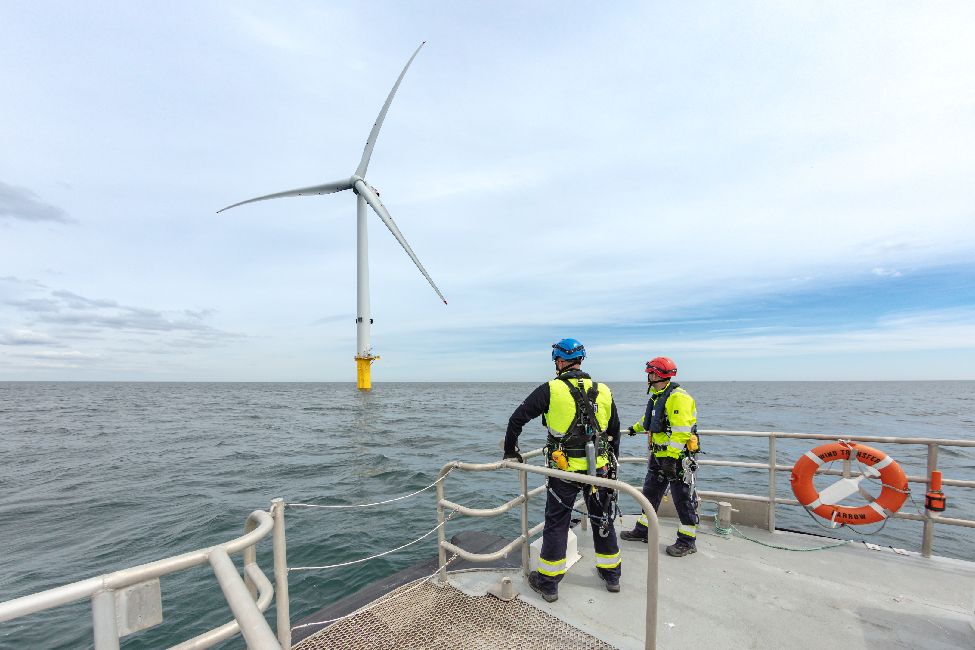 Blyth Offshore wind farm