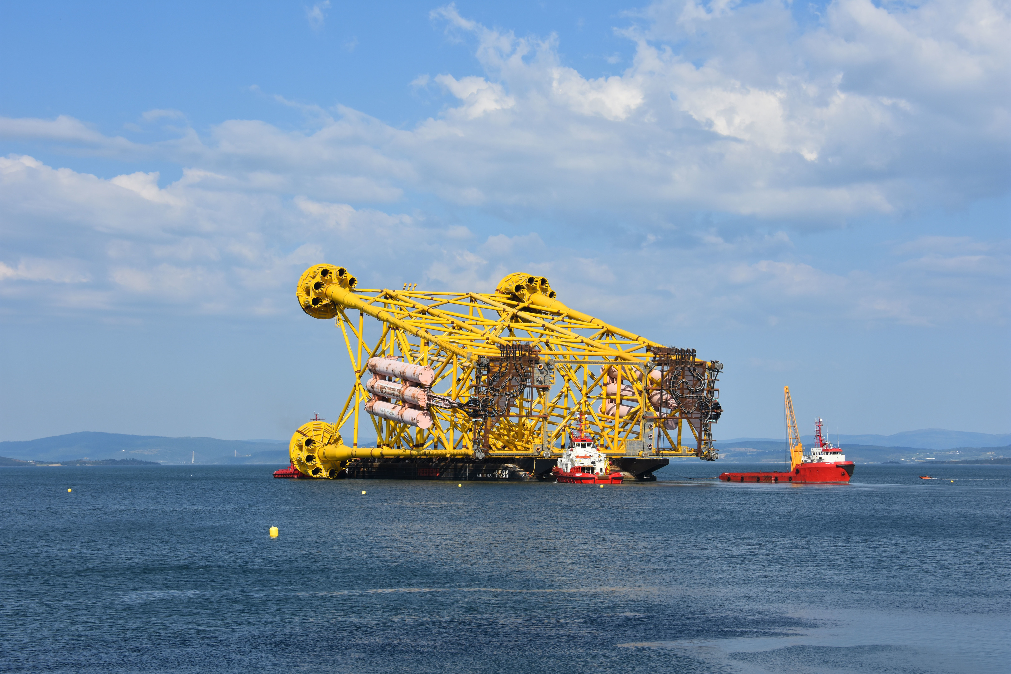 A jacket for the Johan Sverdrup field