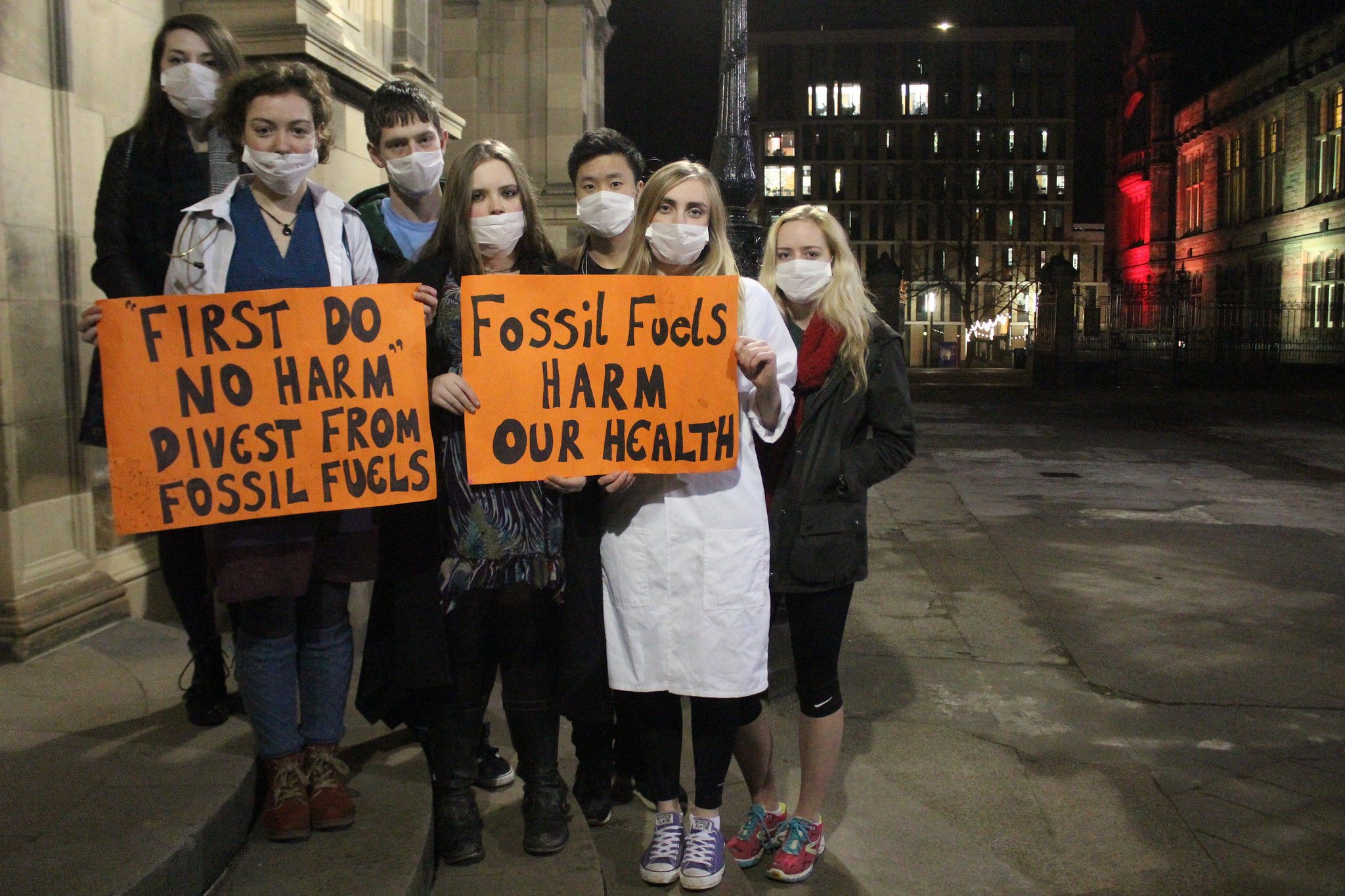 RCGPs say no to fossil fuel companies.