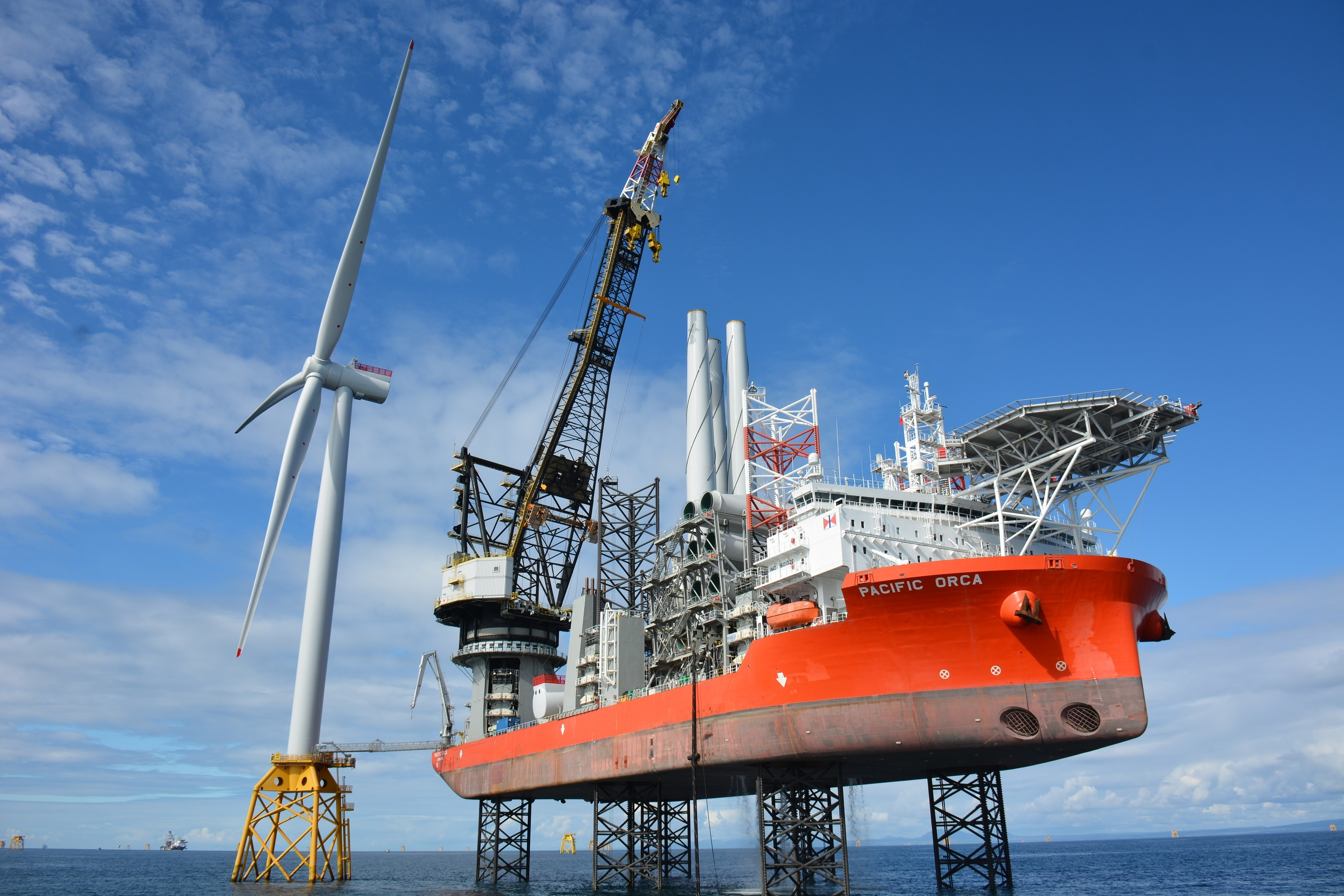 Beatrice windfarm achieved first power in July