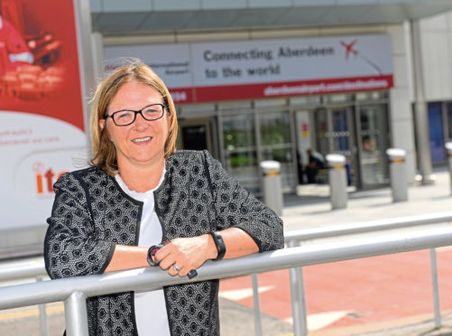 Managing Director at Aberdeen International Airport Carol Benzie is leaving her position at the the airport after 10 years.