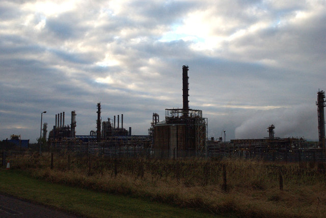 The Mossmorran plant. Credit Peter Moore.