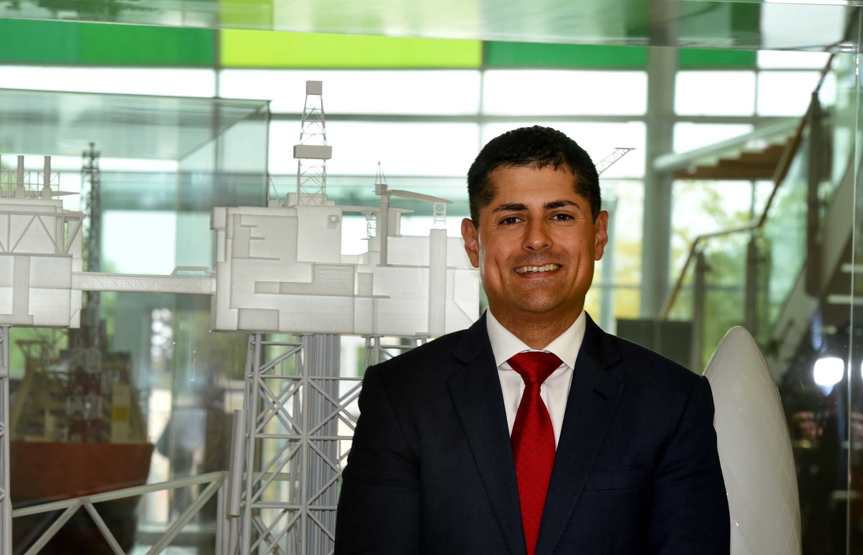 BP's North Sea president Ariel Flores