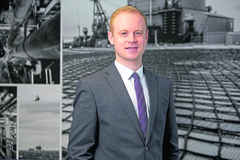 Oil & Gas UK's Market Intelligence Manager Ross Dornan  (Photo: Newsline Media)