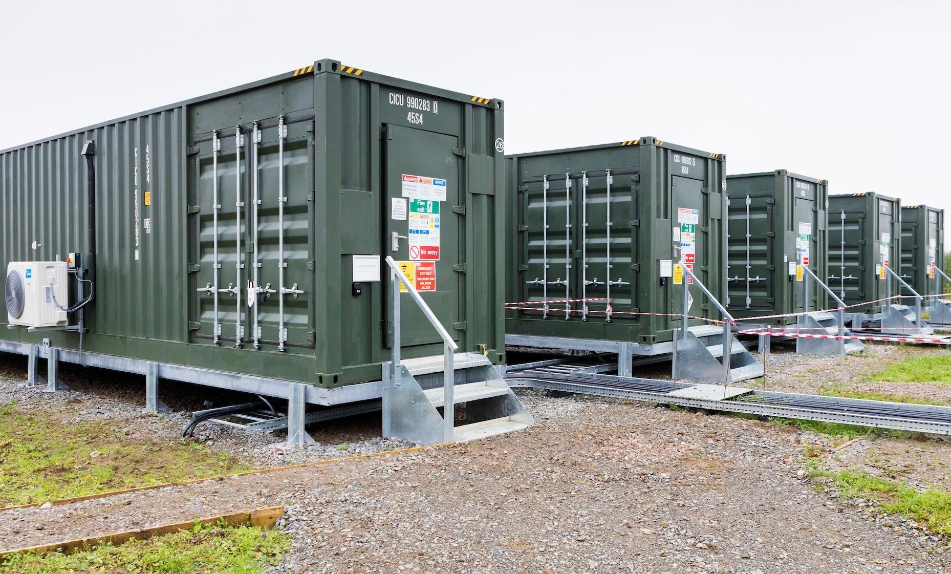 Anesco battery storage unit