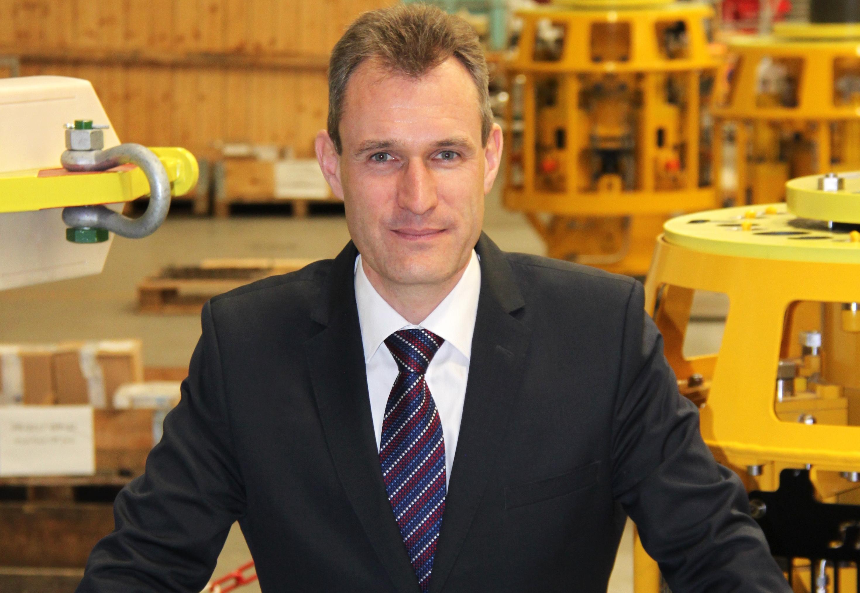 Drummond Lawson, od Subsea Technologies.