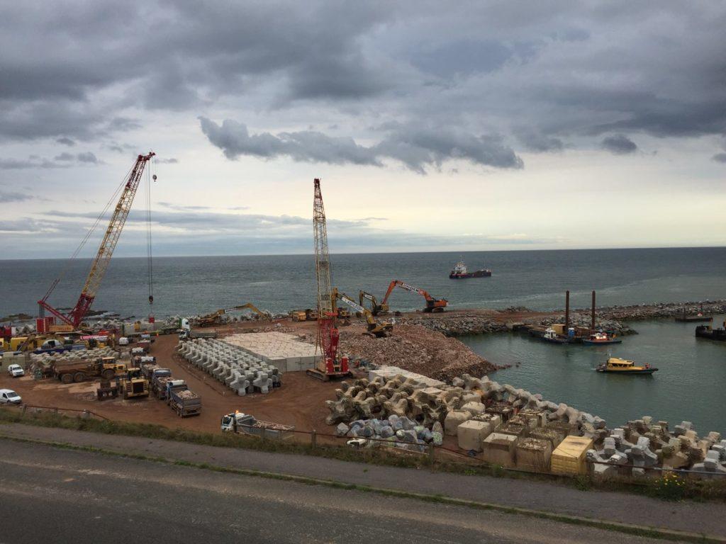 Nigg Bay harbour expansion Pic: Crown Estate Scotland